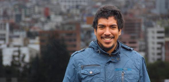 Luis Alfredo Briceño, research assistant, Ecuador